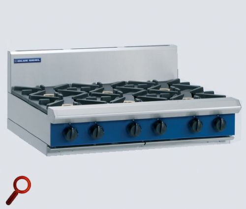 Blue Seal Evolution G516D-B Gas 6 Burner Hob
